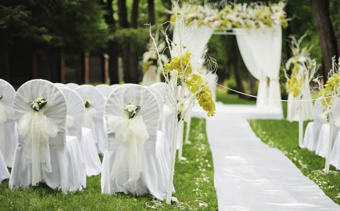 Decoración de Wedding Planner