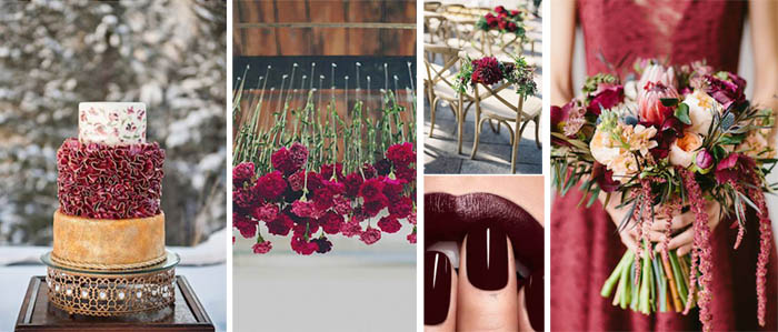 Color decoracion boda
